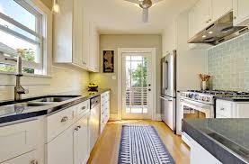 best galley kitchen design photo gallery homes abc