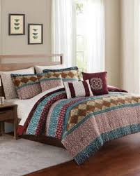 unique printed u0026 multi colored comforters sets stein mart