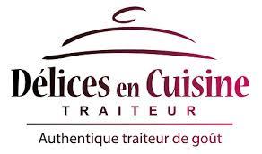 logo de cuisine traiteur délices en cuisine