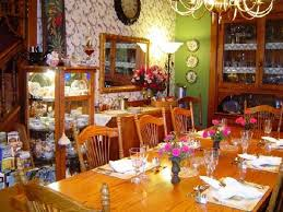 the beautiful dining room at country victorian picture of