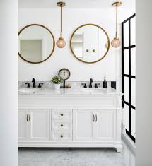 Bathroom With Bronze Fixtures Antique Bathroom Vanities Bathroom Traditional With Marble Counter