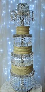 4 tier cake stand wedding acrylic cake stand lavish tower the 4 tier cake