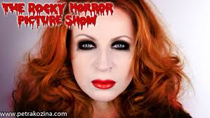 rocky horror picture show magenta makeup u0026 hair tutorial youtube
