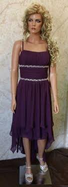 plum wedding dresses purple high low bridesmaid dresses