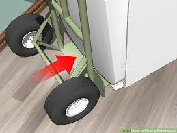 how to move a refrigerator 11 steps with pictures wikihow