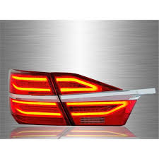 2015 toyota camry tail light buy toyota camry xv50 hybrid facelift 2015 2017 red clear led
