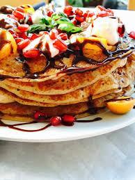 tutti cuisine tutti frutti fluffy pancake cake with creme boolla boolla