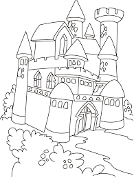 princess castle coloring pages murderthestout