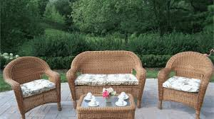 Outdoor Wicker Patio Furniture Sets Wicker Patio Furniture Set My Apartment Story