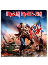 Iron Maiden Flag Iron Maiden The Trooper Fridge Magnet Buy Online At Grindstore Com