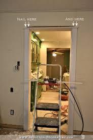 Interior Door Lining How To Install Fancy But Simple Door Casings And Trim