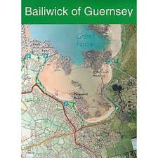 Channel Islands Map The Bailiwick Of Guernsey Maps Ordnance Survey Shop