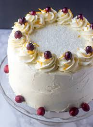 cranberry orange layer cake a festive cake