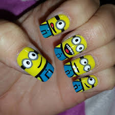 20 minion nail art designs ideas design trends premium psd