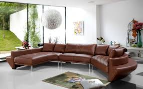 Brown Leather Sectional Sofa by Leather Sectional Sofa Bed Design Ideas Eva Furniture