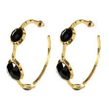hoop earring cleopatra hoop earrings shop amrita singh jewelry