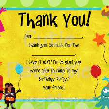 thank you card amazing design kids photo thank you cards birthday
