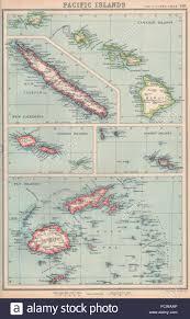 Fiji Islands Map Pacific Islands Hawaii Samoa Society Islands Fiji New Caledonia