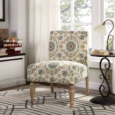 walmart living room chairs better homes gardens paisley slipper chair multiple colors