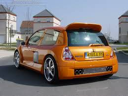 renault clio v6 modified view of renault clio 1 6 sport photos video features and tuning