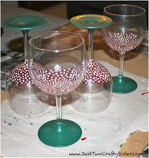 Top 10 DIY Decorative Wine Glasses Top Inspired
