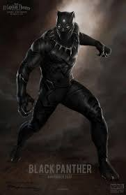 Black Panther Marvel Halloween Costume Black Panther Movie Star Chadwick Boseman Concept Art Revealed
