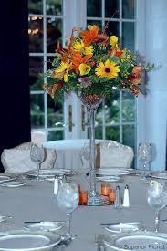 Martini Glass Centerpieces Superior Florist U2013 Centerpieces Autumn Flowers Including Callas