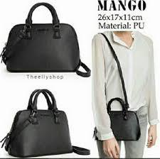 Jual Tas Mango Saffiano jual tas mango original mango mini saffiano black theellyshop