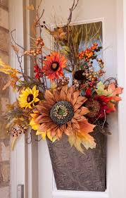 Faux Flower Arrangements 34 Faux Flower Fall Arrangements For Indoors And Outdoors Digsdigs