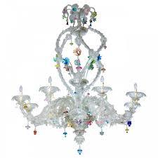 Italian Chandeliers Italian Venetian Murano Glass Chandelier Vintage Antique Vintage