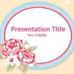 powerpoint flower template free flowers powerpoint templates