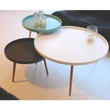 Table Ronde Extensible Blanche by Table Basse Scandinave Kompass 90 By Drawer