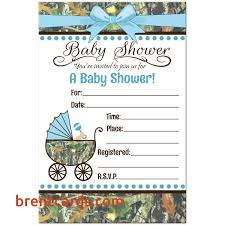 camo baby shower camouflage invitations baby shower camo baby shower invitations 8