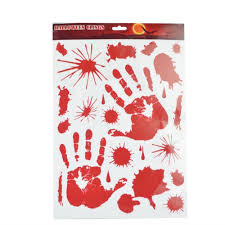 halloween paper products halloween glass sticker promotion shop for promotional halloween
