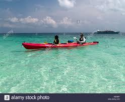 kayaking the clear waters of koh lipe koh tarutao national marine