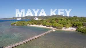 Map Of Roatan Honduras Maya Key Roatan Youtube