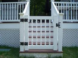 Gate For Top Of Stairs With Banister Back Porch Gate Top Of Stairs But Wood Beach Pinterest Porch