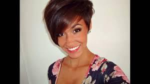 a symetric hair cut round face asymmetrical pixie haircut suits best for short hair round face