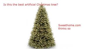 the best artificial or tree