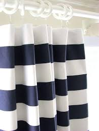 Navy And White Striped Curtains Navy And White Striped Curtains Large Size Of Radiant Classic