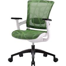 Ergonomic Armchair Skate Mesh Ergonomic Chair W White Frame Staples
