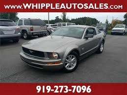 mustang 2009 for sale 2009 ford mustang 1 owner for sale in clayton