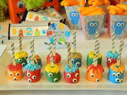 kara u0027s party ideas monster bash party cute ideas supplies