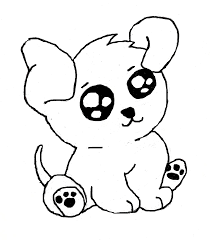 chibi puppy colouring pages coloring pages draw puppy