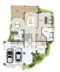 sloped lot house plans sloped lot house plans house plans with garage underneath 3
