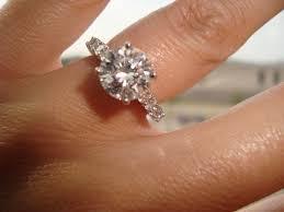 2 carat ring 2 carat cushion cut diamond engagement ring resolve40