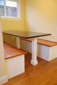 hand crafted custom built in breakfast nook by dagan design
