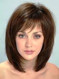 medium length thick haircuts thick hairstyles shoulder length
