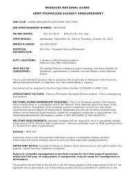 resume duties or accomplishments of obama ng755298 human resources assistant military gs 05 06 07 jefferso
