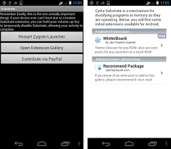 cydia android cydia substrate apk for android to get cydia tweaks
